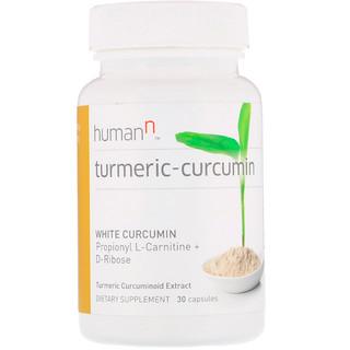 HumanN, Turmeric-Curcumin, Turmeric Curcuminoid Extract, 30 Capsules