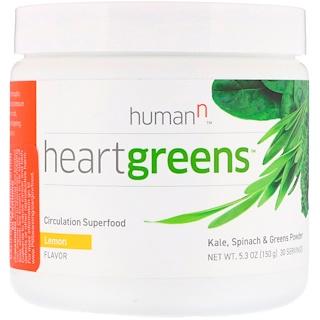 HumanN, Heartgreens, Circulation Superfood, Lemon Flavor, 5.3 oz (150 g)