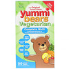 Hero Nutritional Products, Yummi Bears, Complete Multi, Vegetarian, Natural Fruit Flavors, 90 Gummy Bears