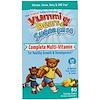 Hero Nutritional Products, Yummi Bears, Complete Multi-Vitamin, Sugar Free, All Natural Fruit Flavors, 60 Gummy Bears