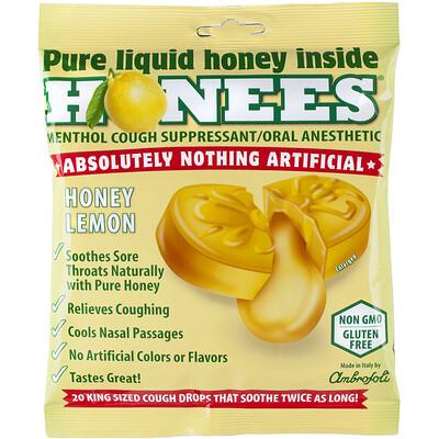 кармолис леденцы с медом 75 г леденцы от кашля, с медом и лимоном, 20 леденцов