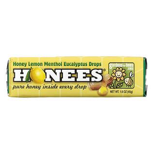 Honees, Honey Lemon Cough Drops, 1.6 oz (45 g)