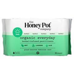 The Honey Pot Company, 有機每日草本浸入式護墊,30 片