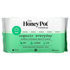 The Honey Pot Company, Organic Everyday Herbal-Infused Pantiliners, 30 Count