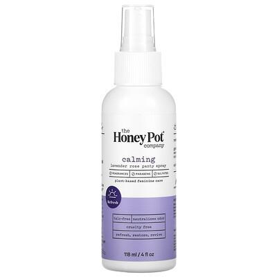 Купить The Honey Pot Company Calming Lavender Rose Panty Spray, 4 fl oz (118 ml)