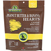 Holistic Blend, My Healthy Pet, Peanut Butter & Banana Hearts, Canine Biscuits, 8.29 oz (235 g)