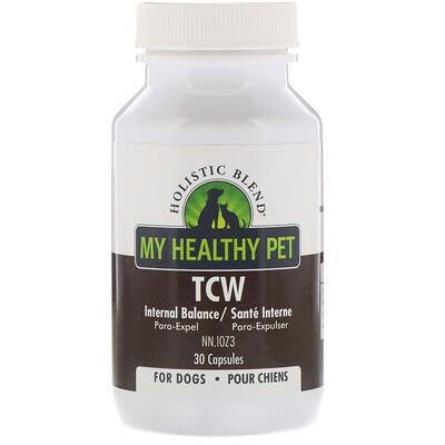 Купить Holistic Blend My Healthy Pet, TCW, Internal Balance, For Dogs, 30 Capsules