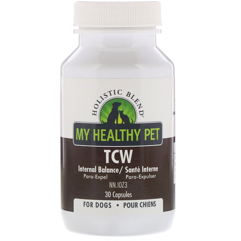 Holistic Blend, My Healthy Pet,  TCW, Internal Balance, For Dogs, 30 Capsules