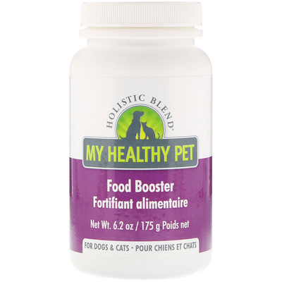 Купить Holistic Blend My Healthy Pet, Food Booster, For Dogs & Cats, 6.2 oz (175 g)