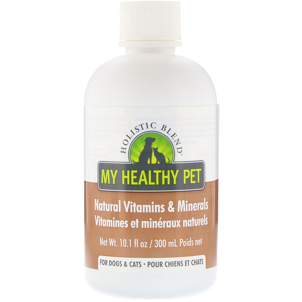 Holistic Blend, My Healthy Pet, Natural Vitamins & Minerals, For Dogs & Cats, 10.1 fl oz (300 ml) (Discontinued Item)