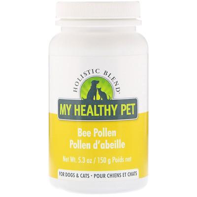 Купить Holistic Blend My Healthy Pet, Bee Pollen, For Dogs & Cats, 5.3 oz (150 g)