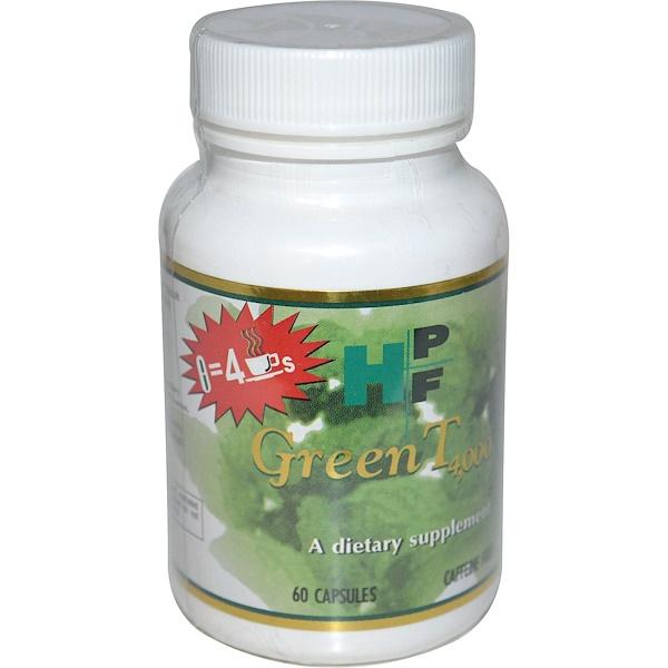 Healthy Origins, Green T 4,000, Caffeine Free, 60 Capsules (Discontinued Item)