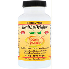 Healthy Origins, Tocomin SupraBio, 50 mg, 150 Softgels