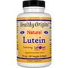 Healthy Origins, Lutein, Natural, 20 mg, 60 Veggie Softgels