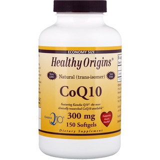 Healthy Origins, CoQ10, Kaneka Q10, 300 mg, 150 Softgels