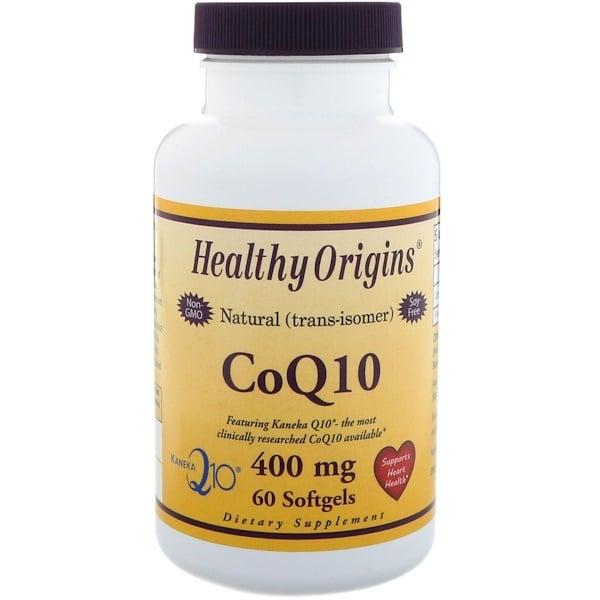 Healthy Origins, CoQ10, 400 mg, 60 Softgels