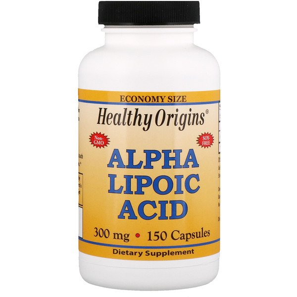 Healthy Origins, Alpha Lipoic Acid, 300 mg, 150 Capsules