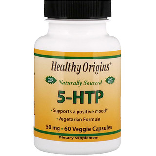 Healthy Origins, 5-HTP, 50 mg, 60 Veggie Capsules