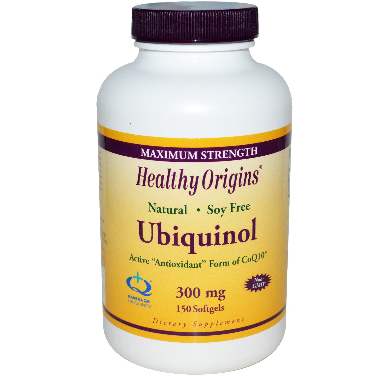 Healthy Origins, Убихинол (Kaneka QH), 300 мг, 150 капсул