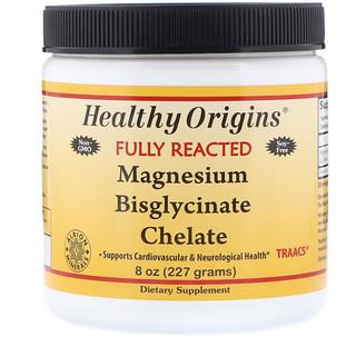 Healthy Origins, Bisglicinato de Magnésio (Quelato), 227 g