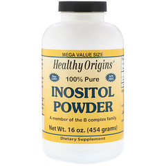 Healthy Origins, Inositol Powder, 16 oz (454 g)