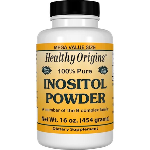 Healthy Origins, Inositol Powder, 16 oz (454 g)