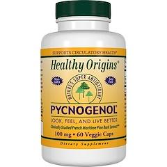 Healthy Origins, Pycnogenol, 100 mg, 60 Veggie Caps