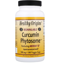 Healthy Origins, Bioavailable Curcumin Phytosome featuring Meriva SF, 180 Veggie Caps