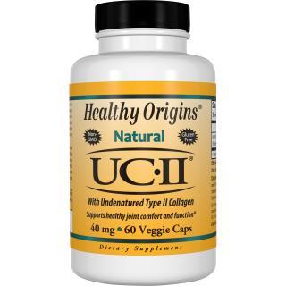 Healthy Origins, Natural, UC-II with Undenatured Type II Collagen, 40 mg , 60 Veggie Caps