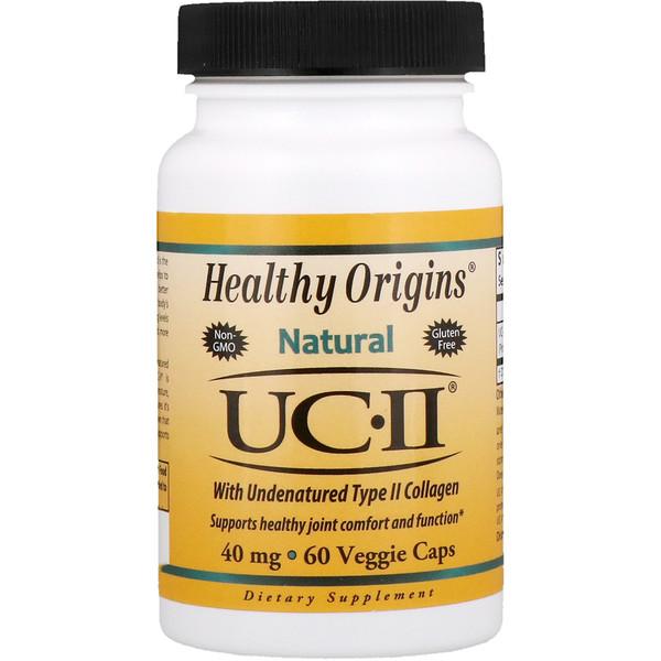 Healthy Origins, UC-II with Undenatured Type II Collagen, 40 mg, 60 Veggie Caps (Discontinued Item)