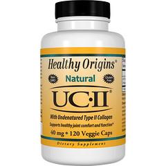 Healthy Origins, Healthy Origins,天然UC-II和非變性二型膠原蛋白,40毫克,120粒素食膠囊