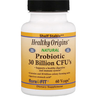 Healthy Origins, Probiotic, 30 Billion CFU's, 60 Vcaps