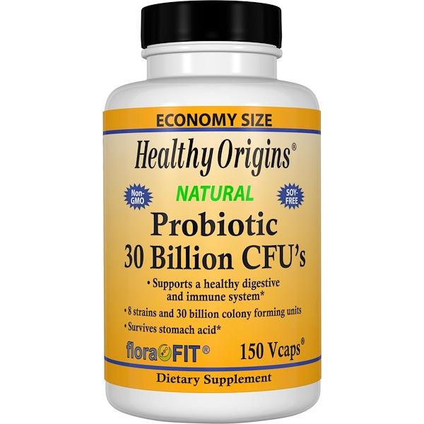 Healthy Origins, Probiotic, 30 Billion CFU's, 150 Vcaps