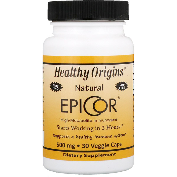 Healthy Origins, EpiCor, 500 mg, 30 Veggie Caps