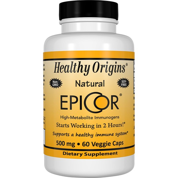 Healthy Origins, EpiCor, 500 mg, 60 Veggie Caps