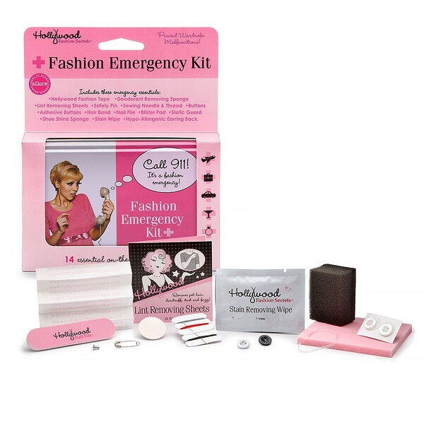 Hollywood Fashion Secrets, Fashion Emergency Kit, 14 Pieces