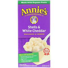 Annie's Homegrown, Macaroni & Cheese, Shells & White Cheddar, 6 oz (170 g)
