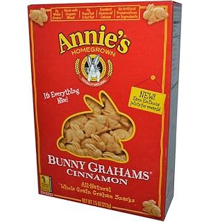 Annie's Homegrown, Bunny Grahams, Cinnamon, 7.5 oz (213 g)