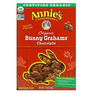 Annie's Homegrown, 兔子饼干,巧克力味, 7.5盎司( 213克)