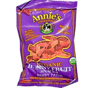 Аннис Хоумгроун, Organic Bunny Fruit Snacks Berry Patch, 0.8 oz (23 g) отзывы покупателей
