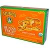 Annie's Homegrown, Органические фруктовые закуски Bunny, солнечный цитрус, 5 пакетиков, 0.8 унции (23 г) каждый