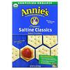 Annie's Homegrown, Organic Saltine Classics Baked Crackers, 6.5 oz (184 g)