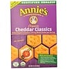 Annie's Homegrown, Cheddar Classics, Baked Crackers with Whole Grains, Organic, 6.5 oz (184 g)