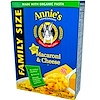 Annie's Homegrown, Macaroni & Cheese, Family Size, Classic Mild Cheese Taste, 10.5 oz (298 g)