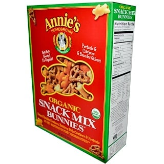 Annie's Homegrown, Organic Snack Mix, Original, 9 oz (255 g)