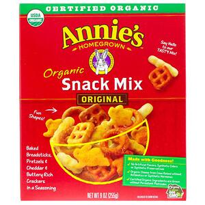 Аннис Хоумгроун, Organic Snack Mix, Original, 9 oz (255 g) отзывы