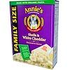 Annie's Homegrown, シェル & ホワイトチェダー、マカロニ & チーズ、ファミリーサイズ、10.5オンス (298 g)