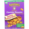Annie's Homegrown, Organic Cheddar Bunnies, Baked Snack Crackers, 7.5 oz (213 g)
