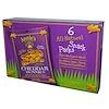 Annie's Homegrown, Cheddar Bunnies, натуральные запеченные крекеры, 6 упаковок, 1 унция (28 г) каждая
