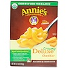 Annie's Homegrown, Creamy Deluxe Cheddar, Macaroni & Cheese Sauce, 9.5 oz (269 g)